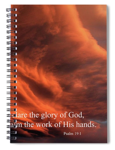 Psalm 19-1 Spiral Notebook