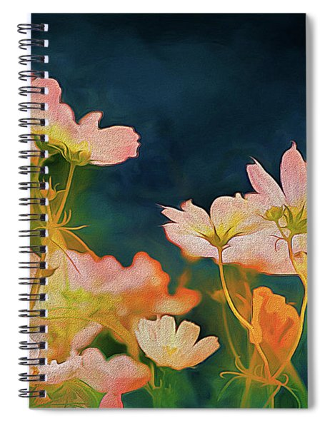 Psychedelic Cosmos Spiral Notebook