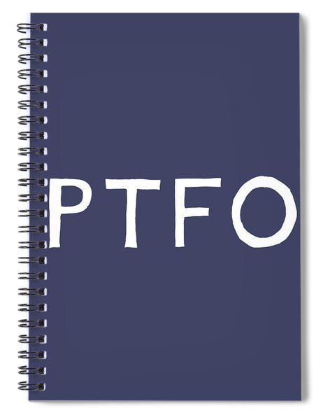 Ptfo- Art By Linda Woods Spiral Notebook