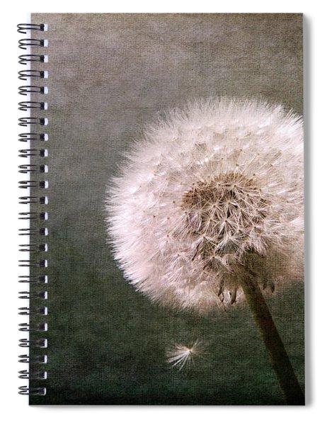 Puff Dandelion Spiral Notebook