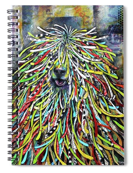 Hungarian Sheepdog Spiral Notebook