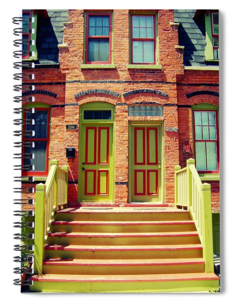 Pullman National Monument Row House Spiral Notebook