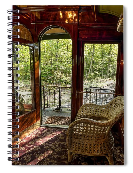 Pullman Porch Spiral Notebook