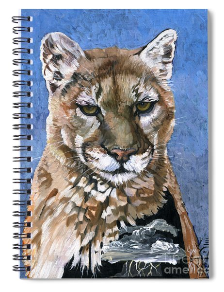 Puma - The Hunter Spiral Notebook