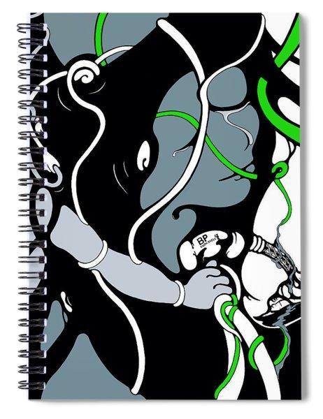 Pumped Spiral Notebook