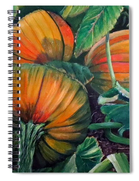Pumpkin Patch Spiral Notebook