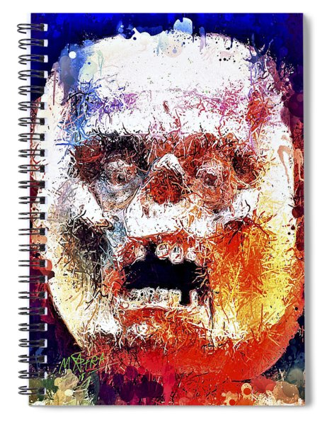 Pumpkin Scream Spiral Notebook