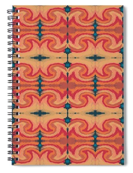Pumpkin Spice 2- Art By Linda Woods Spiral Notebook