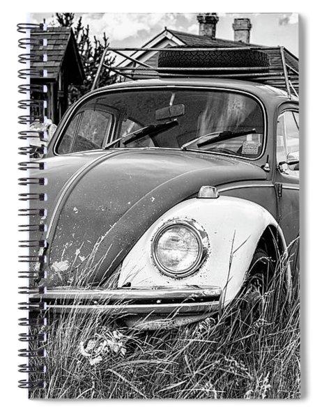 Punch Bug Spiral Notebook
