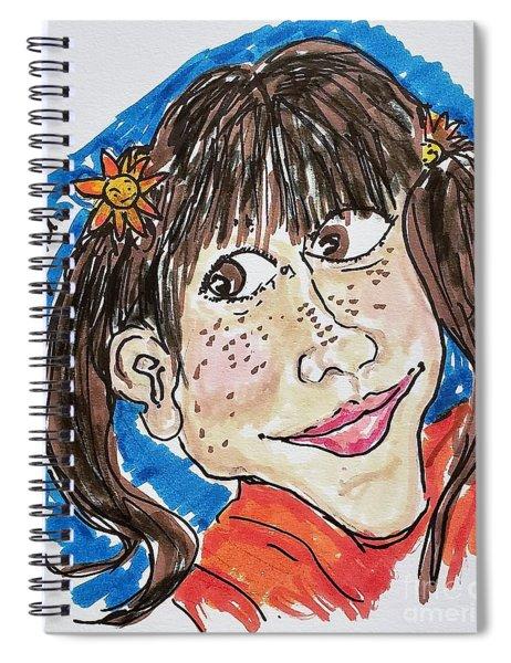 Punky Brewster Spiral Notebook
