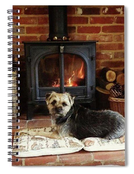 Fireside Comfort Spiral Notebook