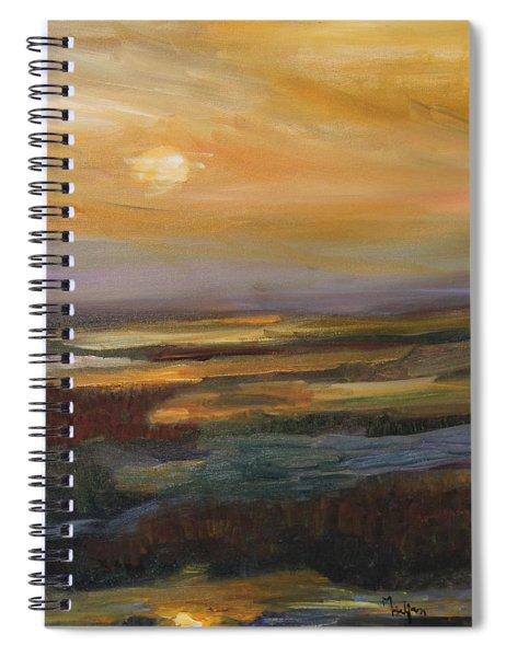 Pure Gold Spiral Notebook