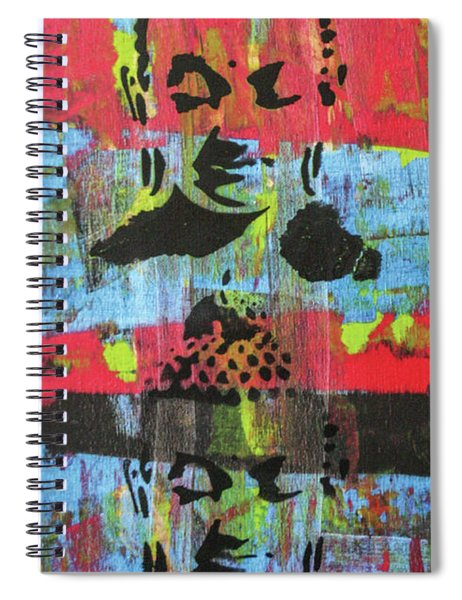 Purifying The Heart Spiral Notebook