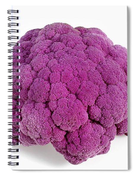 Purple Cauliflower Spiral Notebook