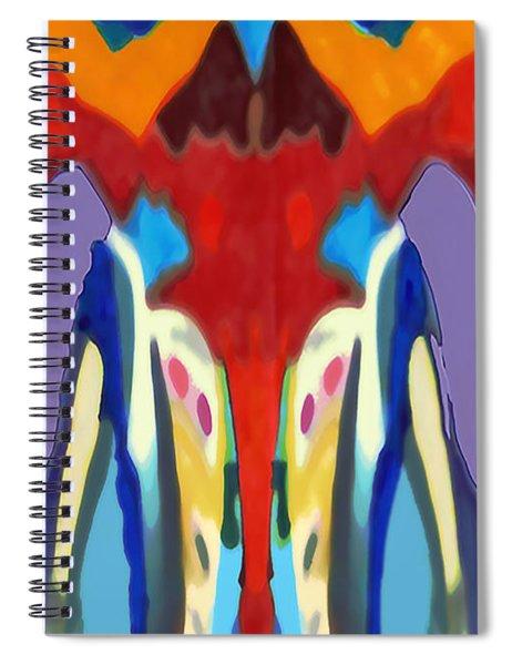 Purple Hoodies Spiral Notebook