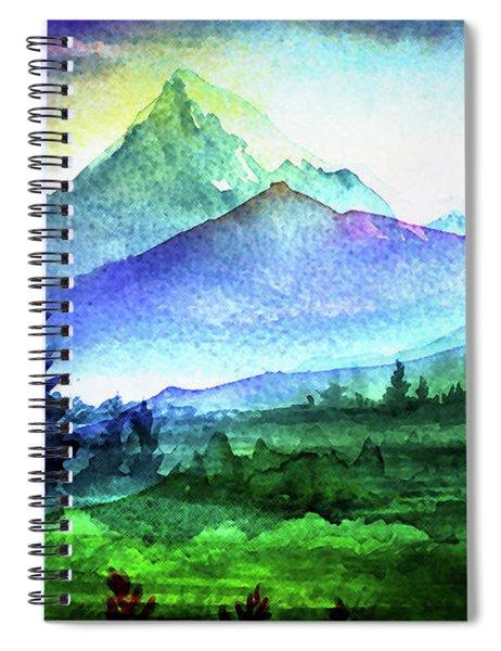 Purple Mountains Majesty Spiral Notebook