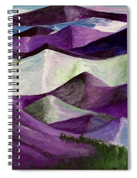 Purple Mountains Majesty Spiral Notebook