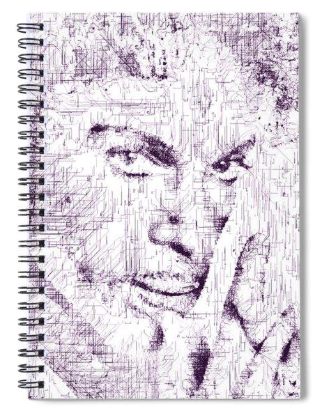 Purple Rain By Prince Spiral Notebook