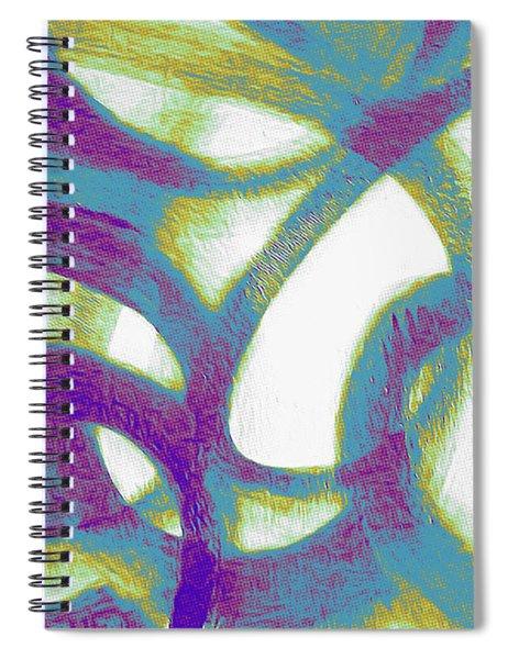 Purple Soul Spiral Notebook