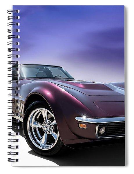 Purple Stinger Spiral Notebook