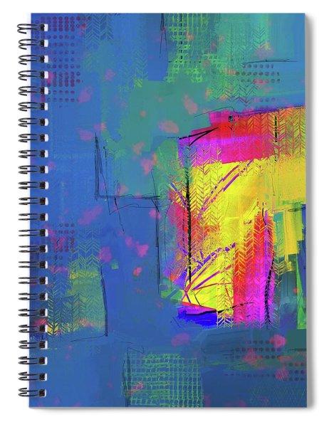Purplish Rain Spiral Notebook