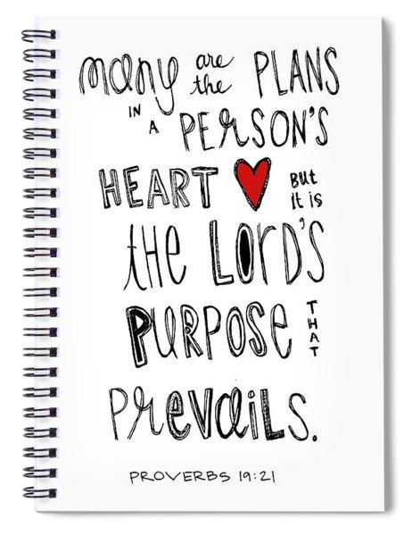 Purpose Spiral Notebook