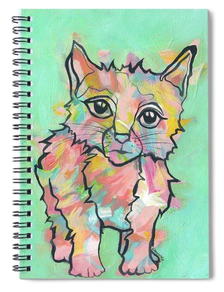 Purr-suasive Spiral Notebook