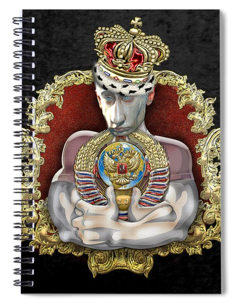 Putin's Dream - Ussr 2.0 Spiral Notebook