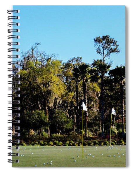 Putting Green At Tpc Sawgrass Spiral Notebook