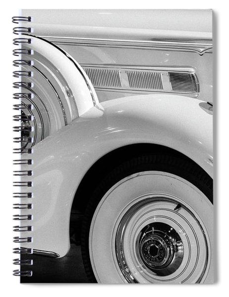 Putting On The Ritz Spiral Notebook