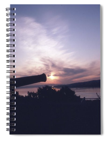 Putting Up The Sun Spiral Notebook