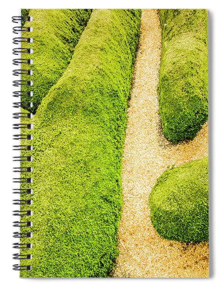 Puzzling Symmetry Spiral Notebook