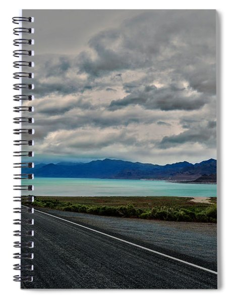 Pyramid Lake Spiral Notebook