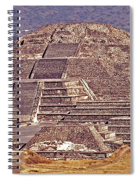 Pyramid Of The Sun - Teotihuacan Spiral Notebook