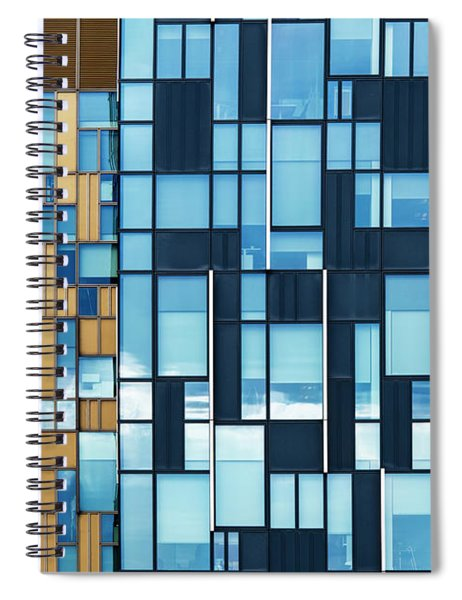 Quadrilateral Colour Spiral Notebook by Tim Gainey