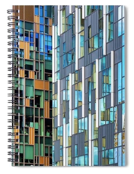 Quadrilaterals Spiral Notebook by Tim Gainey