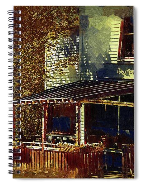 Quaint Cafe Spiral Notebook