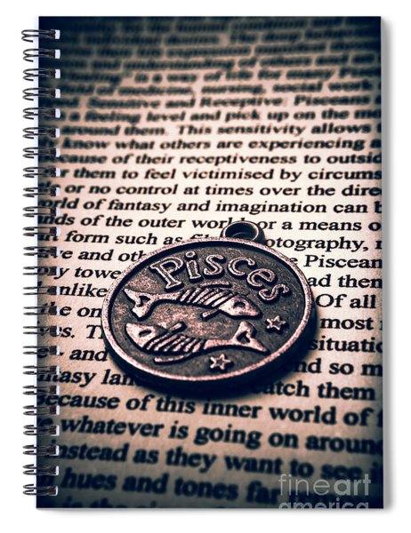 Qualities In Pisces Spiral Notebook