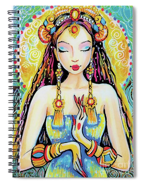 Quan Yin Spiral Notebook