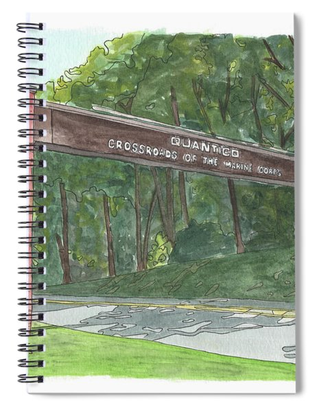 Quantico Welcome Spiral Notebook