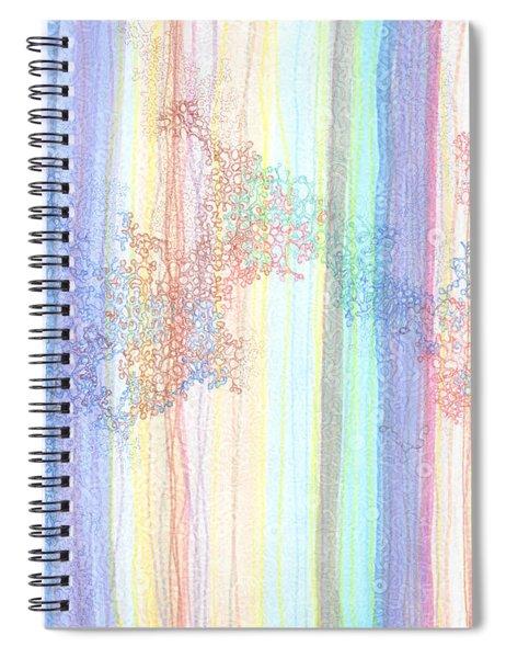 Quantum Foam Spiral Notebook
