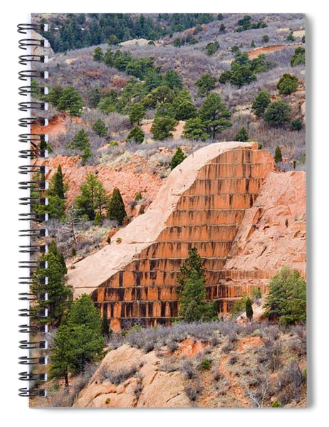 Quarry At Red Rock Canyon Colorado Springs Spiral Notebook