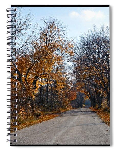 Quarterline Road Spiral Notebook