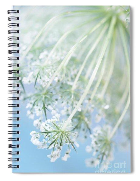 Queen Anne's Lace Spiral Notebook
