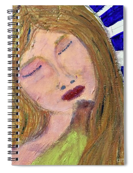 Queen Serene Spiral Notebook