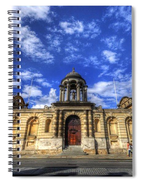 Queens College - Oxford Spiral Notebook