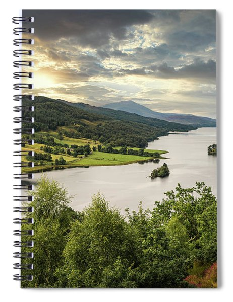 Queen's View Spiral Notebook