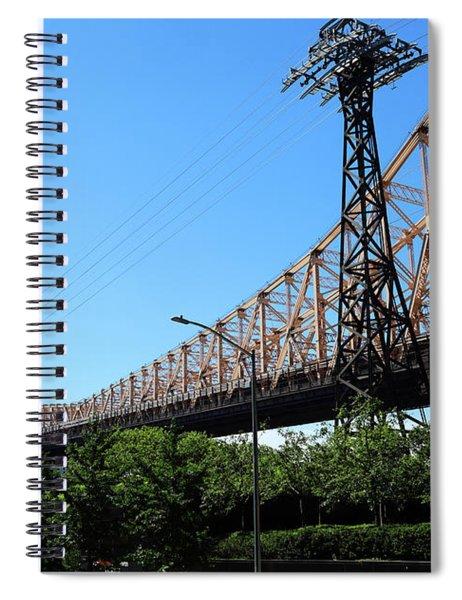 Queensborough Ed Koch Bridge Spiral Notebook