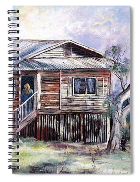 Queenslander Style House, Cloncurry. Spiral Notebook