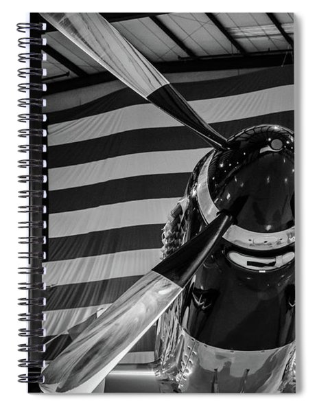 Quick Silver Spiral Notebook